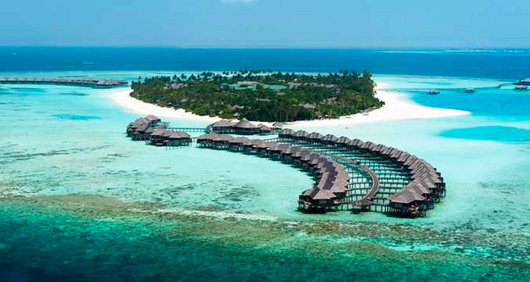 Pregon agropecuario top ten de las islas que pueden for Maldivas hotel bajo el agua